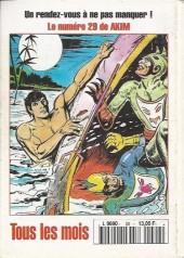Verso de Capt'ain Swing! (2e série - Mon Journal) -29- La taverne du borgne