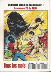 Verso de Capt'ain Swing! (2e série - Mon Journal) -28- Le traître