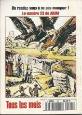 Verso de Capt'ain Swing! (2e série - Mon Journal) -23- La Tête qui remue
