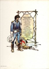 Verso de Blueberry -7a76- Le cheval de fer