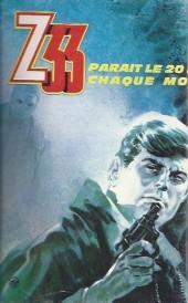 Verso de Z33 agent secret -16- Dangereux anniversaire
