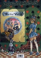 Verso de Little Alice in Wonderland -2- Tango Baïonnette