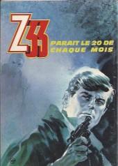 Verso de Z33 agent secret -33- L'ombre de Raspoutine