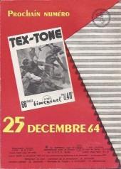 Verso de Tex-Tone -183- L'imbroglio.