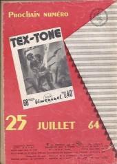 Verso de Tex-Tone -173- Le