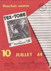Verso de Tex-Tone -172- Le partage équitable