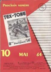 Verso de Tex-Tone -168- Le marchand de désert
