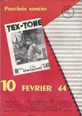 Verso de Tex-Tone -162- Crin de feu