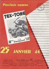 Verso de Tex-Tone -161- Louisiane