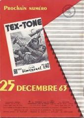 Verso de Tex-Tone -159- Histoire de fantôme