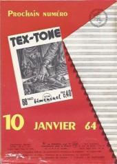 Verso de Tex-Tone -160- Le faux coupable