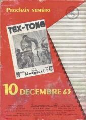 Verso de Tex-Tone -158- Le mexicain