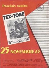 Verso de Tex-Tone -157- Le