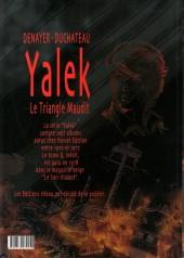 Verso de Yalek -8- Le triangle maudit