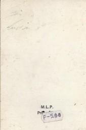 Verso de Yataca (Fils-du-Soleil) -Rec55- Album N°55 (du n°186 au n°188)