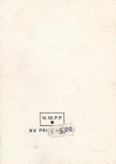 Verso de Yataca (Fils-du-Soleil) -Rec33- Album N°33 (du n°120 au n°122)