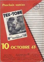 Verso de Tex-Tone -154- Un âne glouton