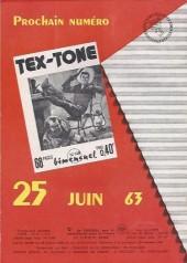 Verso de Tex-Tone -147- Le complot des vétérans