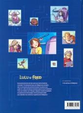 Verso de Lulu & Fred -1- Une dent contre les mémés