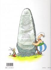 Verso de Astérix (Hachette) -14a2001- Astérix en Hispanie