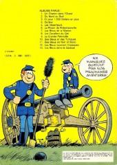Verso de Les tuniques Bleues -1d89- Un chariot dans l'ouest