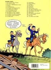 Verso de Les tuniques Bleues -12b1990- Les Bleus tournent cosaques