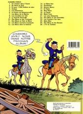 Verso de Les tuniques Bleues -13b1987- Les bleus dans la gadoue