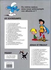 Verso de Les schtroumpfs -2d10- Le schtroumpfissime (et schtroumpfonie en ut)