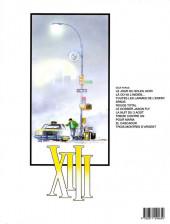 Verso de XIII -8a1996- Treize contre Un