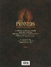 Verso de Les pionniers du Nouveau Monde -INT1- L'intégrale - Tomes 1 à 4