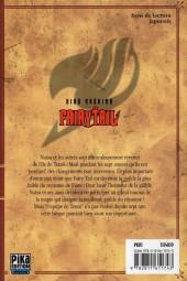 Verso de Fairy Tail -31- Tome 31
