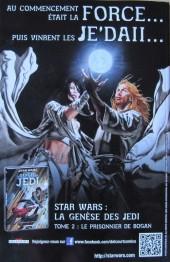 Verso de Star Wars - Comics magazine -4B- La Tribu perdue des Sith (Conclusion)