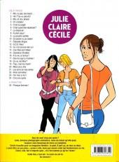 Verso de Julie, Claire, Cécile -24- Cinq ans après
