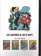 Verso de Jim L'astucieux (Les aventures de) - Jim Aydumien -4- Clarté sur Hoppa-city