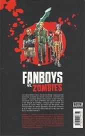 Verso de Fanboys vs. Zombies -1- Fossoyeurs pour la vie