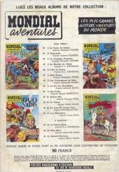 Verso de Mondial aventures -2- Salammbo