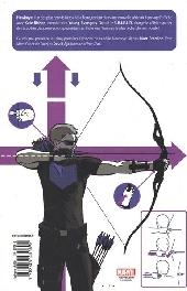 Verso de Hawkeye (100% Marvel - 2013) -1- Ma vie est une arme