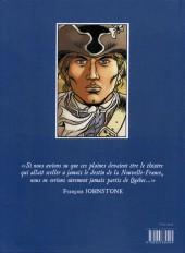 Verso de Les plaines d'Abraham -1- Livre I