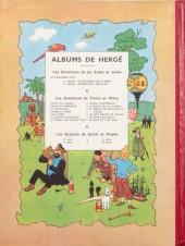 Verso de Tintin (Historique) -5B05- Le lotus bleu