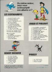Verso de Les schtroumpfs -6b82- Le cosmoschtroumpf