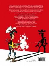 Verso de Lucky Luke -HS06a- Les personnages de Lucky Luke et la véritable histoire de la conquête de l'ouest