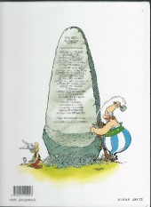 Verso de Astérix (Hachette) -4a00- Astérix gladiateur