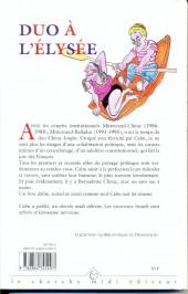Verso de (AUT) Cabu - Duo à l'Élysée