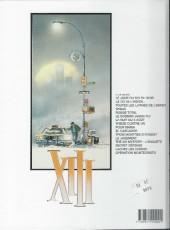 Verso de XIII -1b2005- Le jour du soleil noir