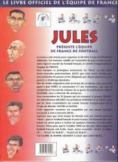 Verso de (AUT) Paret - Jules présente l'équipe de France de football