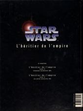 Verso de Star Wars - Le cycle de Thrawn (Dark Horse) -1- L'héritier de l'empire - Tome 1