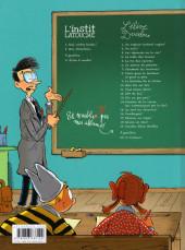 Verso de L'instit Latouche -2- Tome 2 Moi, directeur...