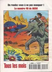 Verso de Capt'ain Swing! (2e série - Mon Journal) -46- Le butin de l'Arabella