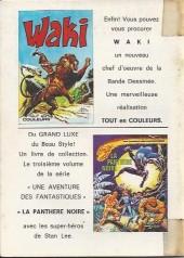 Verso de Blek (Les albums du Grand) -255- Numéro 255