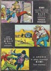 Verso de Blek (Les albums du Grand) -230- Numéro 230